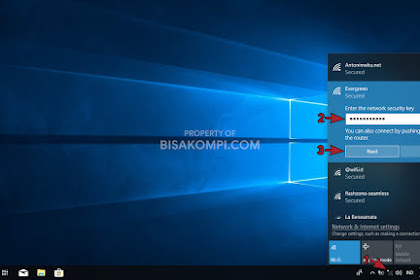 Cara Menyambungkan WiFi ke Laptop Windows 10