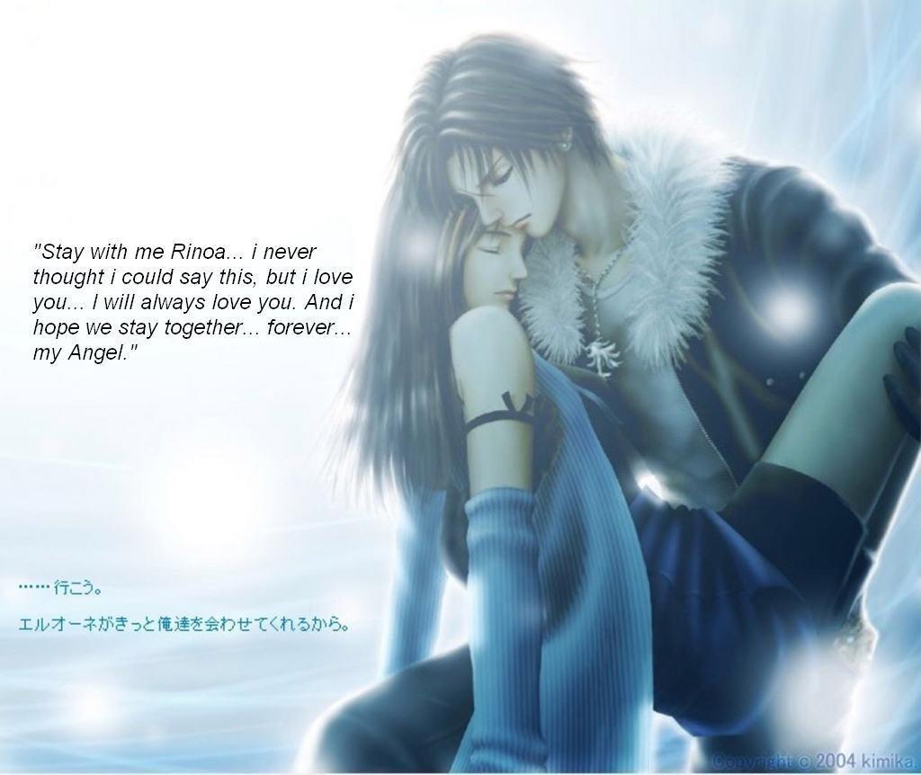 Love Fantasy Quotes: Alternate Kingdom Hearts: Final Fantasy VIII (RPG) PC