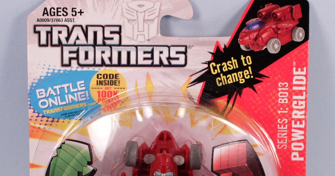 The Toy Museum: Transformers Bot Shots Powerglide Series 1: B013