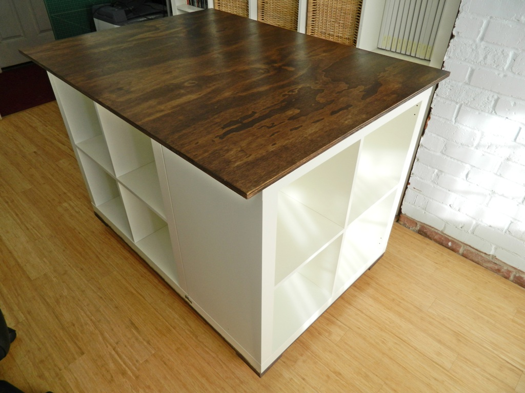 ikea hack expedit cutting table kitchen cutting table
