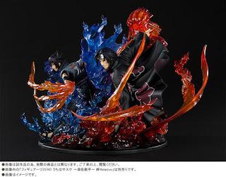 Figuarts ZERO Uchiha Sasuke y Uchiha Sasuke 絆 kizuna」Relation - Tamashii Nations