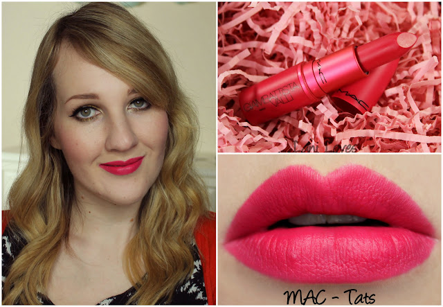 MAC Tats lipstick swatch