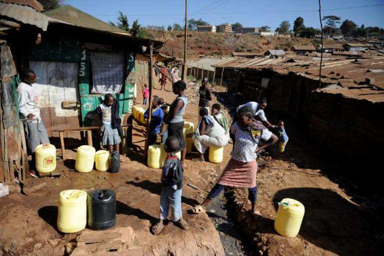 PROVISION OF CLEAN AND SAFE WATER KEY TO KIANDUTU SCHOOL ENROLMENT | Thika  Town Today