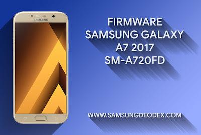 Samsung Firmware A720F DS A7 2017