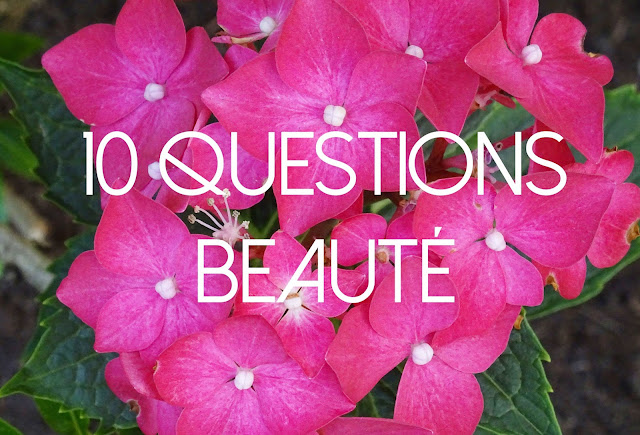 TAG 10 questions beauté