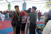 Kejuaraan Terbuka Karate Danyonif Raider 700/Wyc II, Tim Selayar Sementara Raih 8 Medali