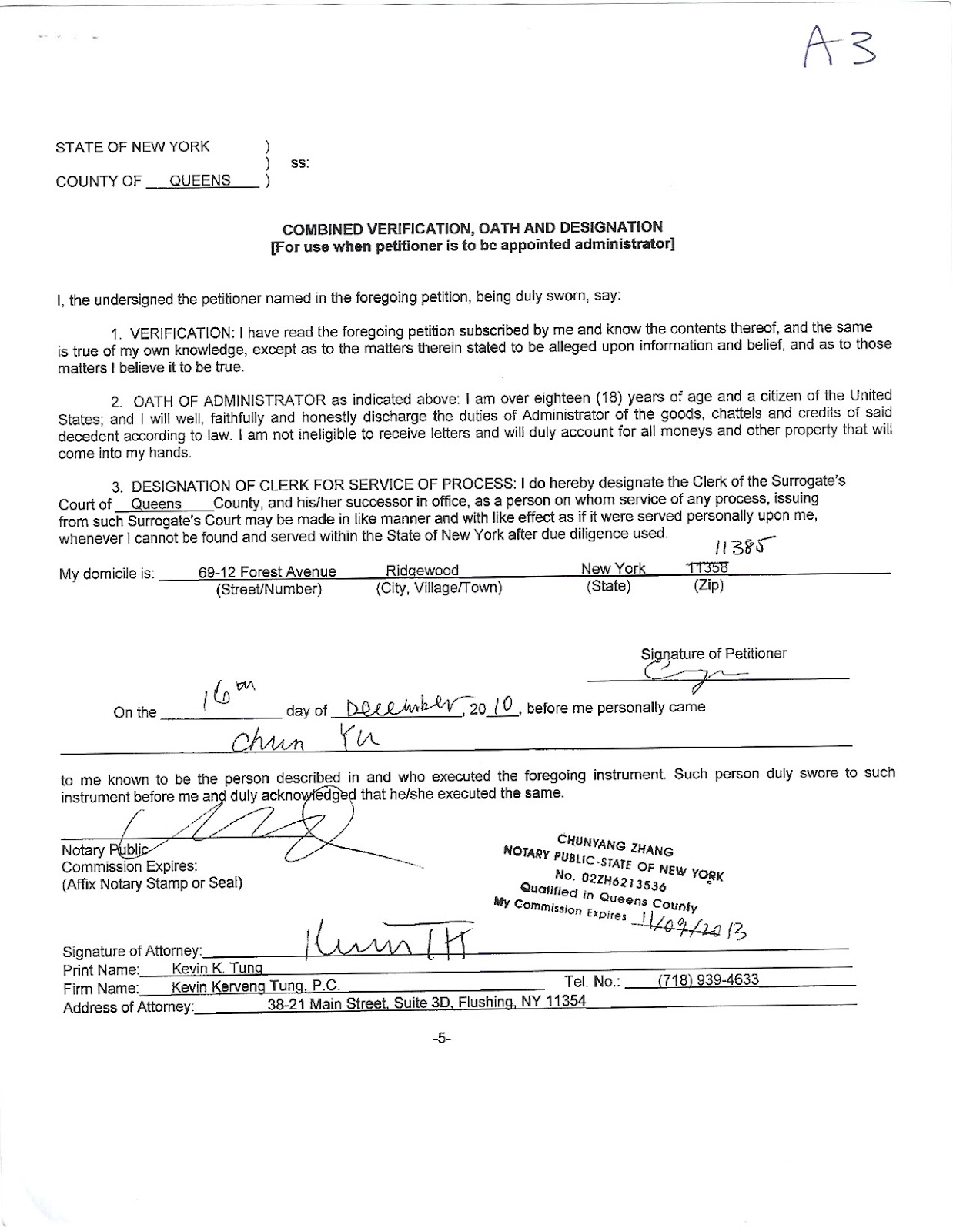 The murder of sunny sheu documents of executorship of for Will template new york
