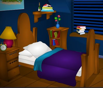 TollFreeGames Dark Night Room Escape Walkthrough