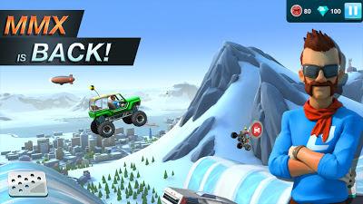 لعبة MMX Hill Dash 2 مهكرة