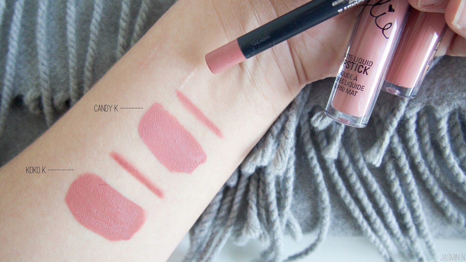 Koko K Candy Kylie Cosmetics Little Things With Jassy Lipstick For You Who Already Dont Know Lip Kits Include Matte Liquid And A Liner To Go It Nicely Both In The Same Package 29 Sign