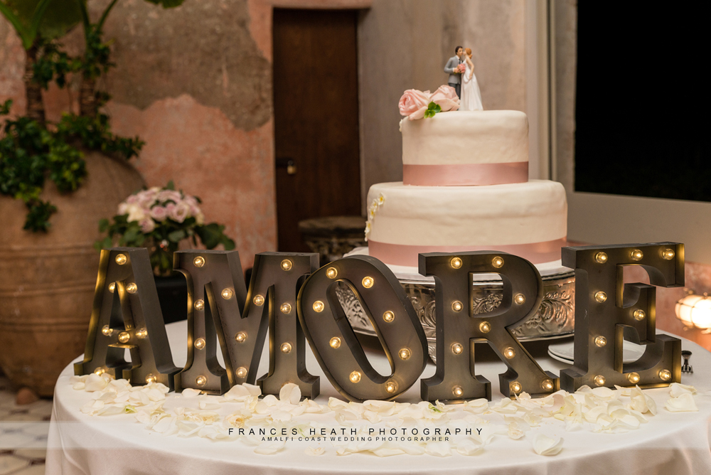 Wedding cake Villa San Giacomo