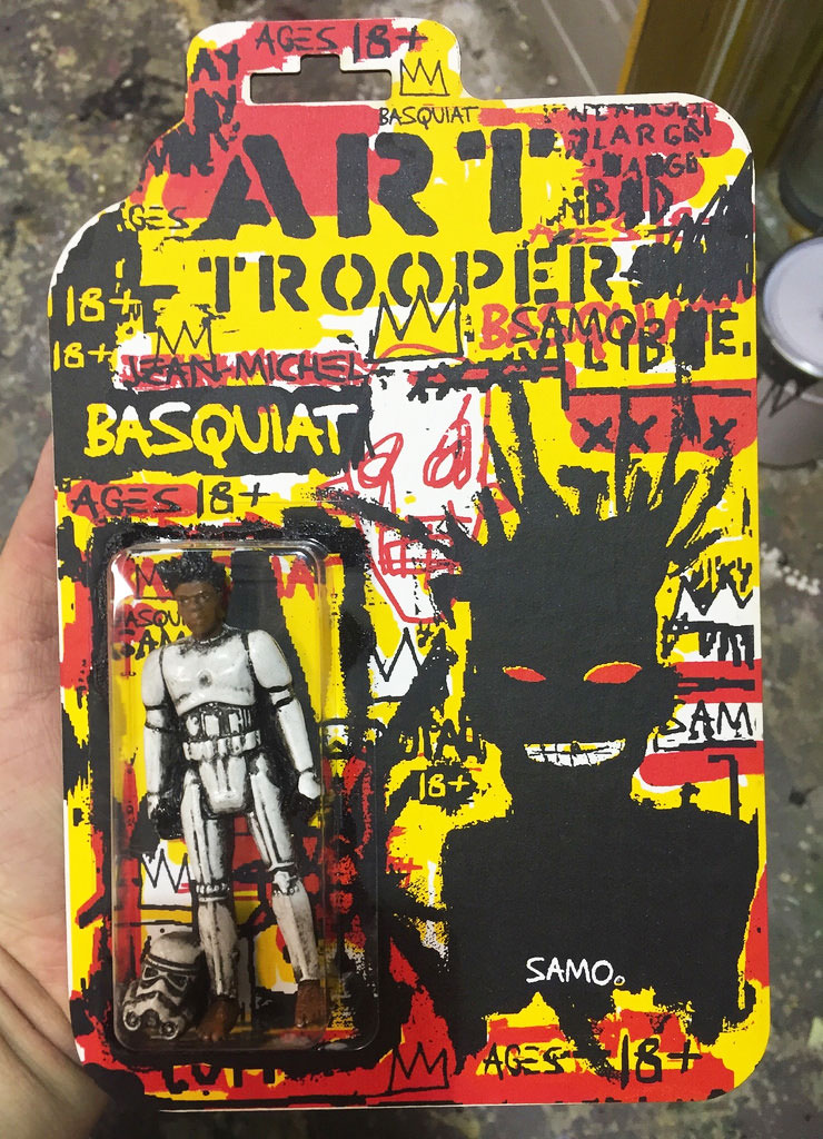 Art Trooper Series Basquiat By Ryca For Dke Toys Sdcc2016