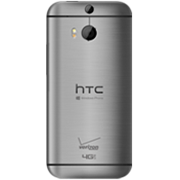 HTC One M8 for Windows (rear)