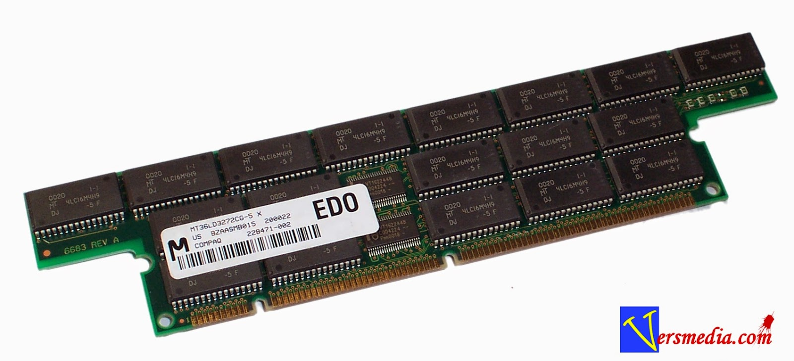 EDO RAM Extended Data Out Random Access Memory