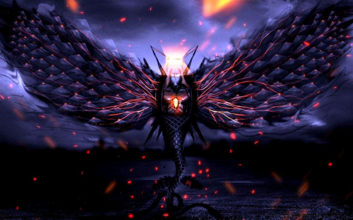 Dreamy Fantasy Flying Dragon Creative Artwork Wallpaper