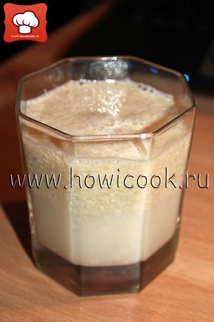 рецепт кунжутного молока