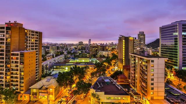 Santiago do Chile em dezembro