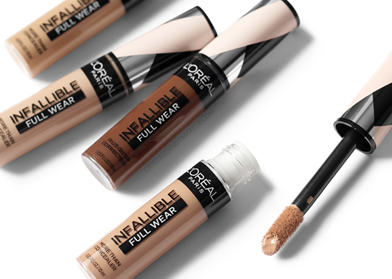 Correcteur Infallible Full Wear L'Oréal Paris Avis Revue Applicateur