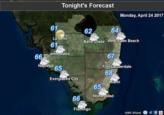 UPDATED MIAMI AND VICINITY FORECAST