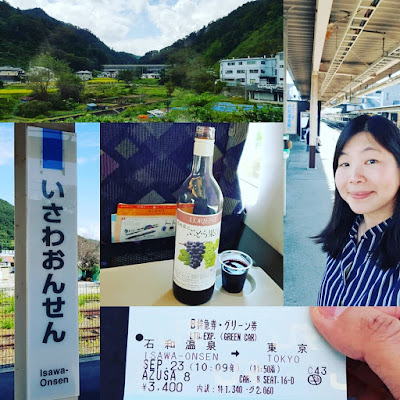 Day 5 - Journey of special day from Isawa Onsen through Tokyo to Kyoto