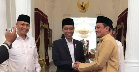 GNPF-MUI Bertemu Presiden Jokowi Minta Kriminalisasi Ulama Dihentikan, Polisi: Tetap Berjalan Kasus Itu