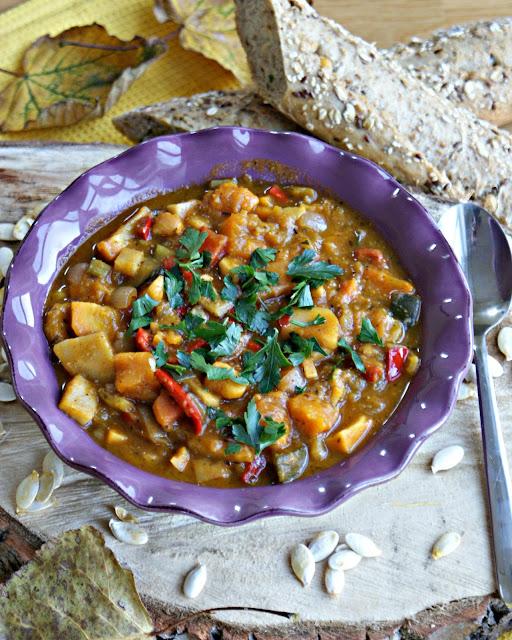Gulasz warzywny z dynią