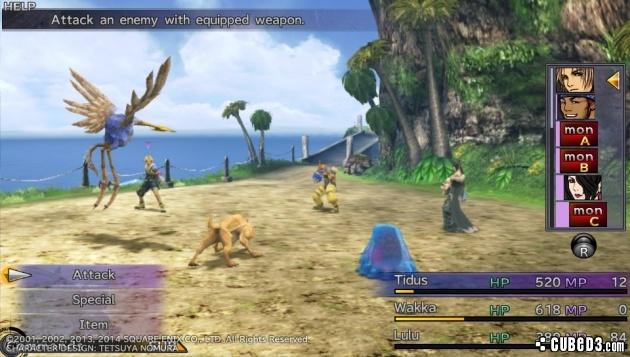 ffxhdvita2 - Final Fantasy X remastered (VPK/MAI) PS VITA
