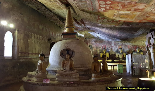 Pilgrimage place in Sri Lanka - Dambulla Cave Temple
