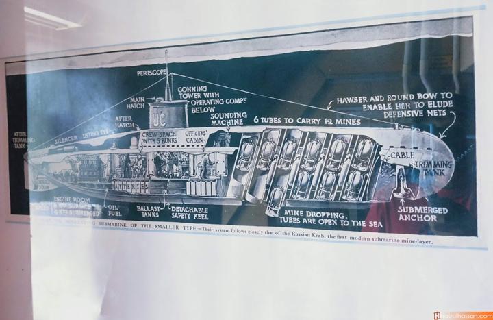 10 Foto Muzium Kapal Selam - Bahagian dalaman