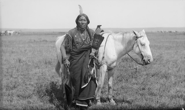 Guerreiro Comanche - Ako - (1892)