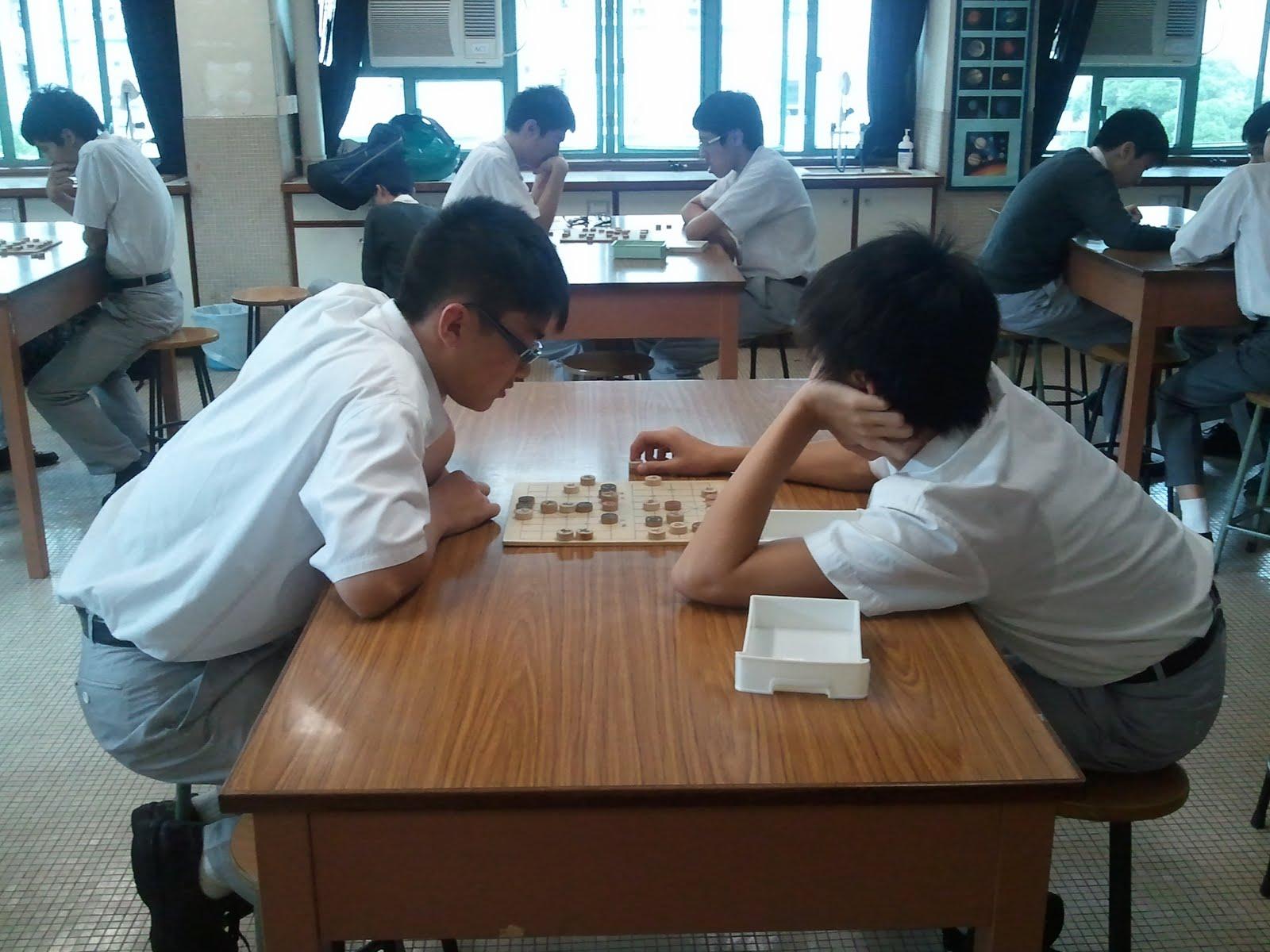 中國象棋學會: 2011-12 年度校內個人賽相片
