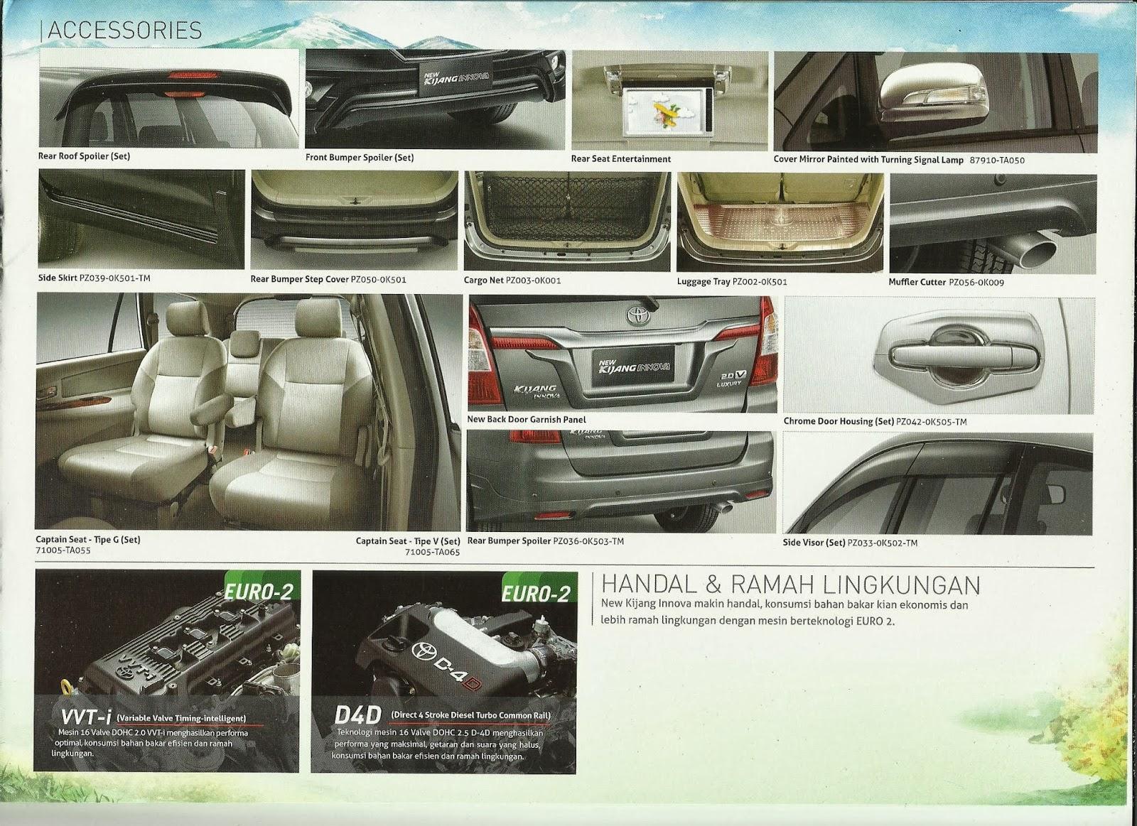 Spesifikasi New Innova Venturer All Kijang Review Auto2000 Karawang Brosur Dan