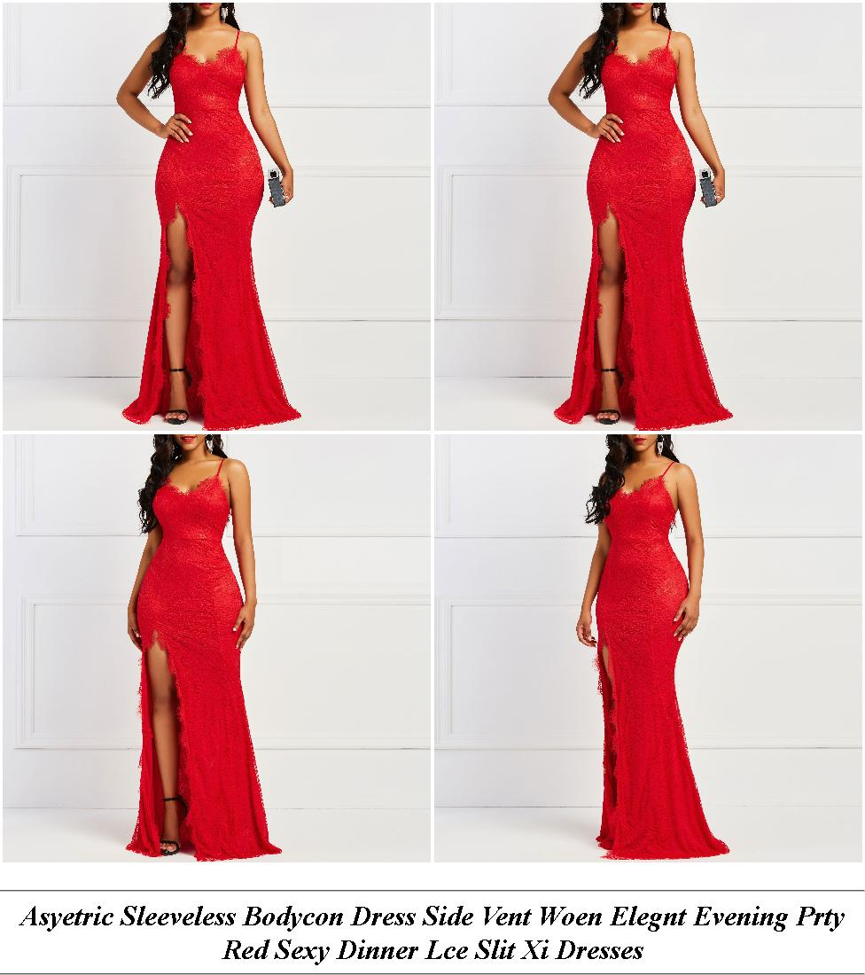 Summer Dresses For Women - Clearance Clothing Sale - Long Sleeve Dress - Cheap Clothes Online Uk