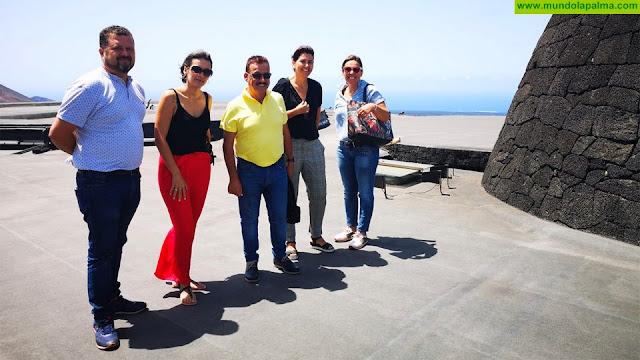 Fuencaliente conoce el modelo de gestión de los centros turísticos de Lanzarote