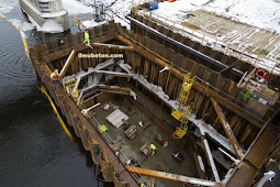 Cofferdam Untuk Pengecoran Dibawah Permukaan Air Laut dan Sungai