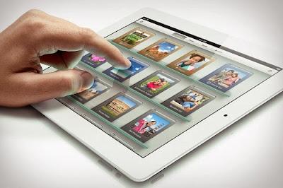 Kiểm tra chất lượng màn hình ipad 3 sau khi thay thế