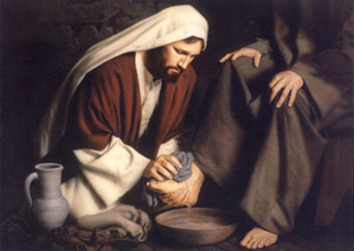 Kent Crocketts Devotionals What Does Washing Feet Mean Today