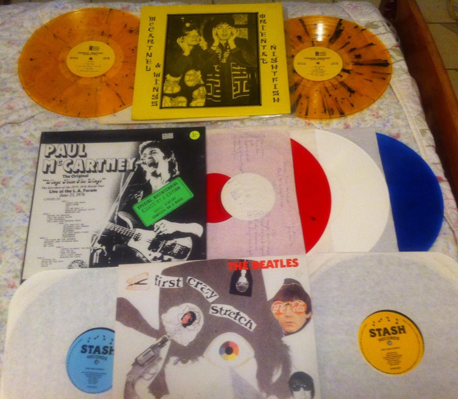 Maritime Vinyl: Pictures of Keltie's LP's!