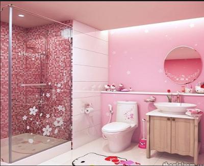 Desain Rumah Nuansa Pink Yang Cantik 10