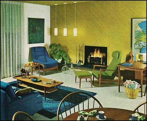 Decorating theme bedrooms maries manor retro mod style - Mid century modern home decor ...