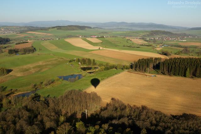 Relacja z lotu balonem