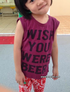 6 year old girl in purple t shirt