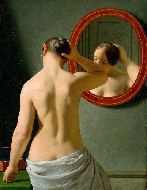 ECKERSBERG - Donna allo specchio - sex art - taglie forti