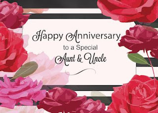 wedding anniversary wishes for uncle and aunty in English