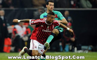 Fc Barcelona Vs Ac Milan UEFA Champions League 2012