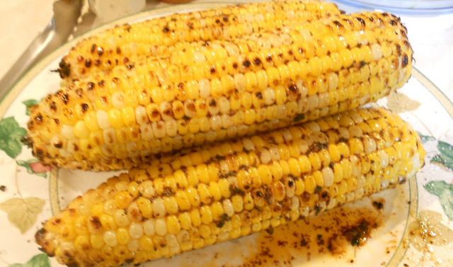 Grilled Corn with Chili-Lime Butter