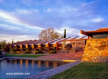 Taliesin west estudio y escuela de arquitectura en Arizona
