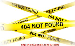 Cara Mengalihkan Halaman 404 KeHalaman Lain