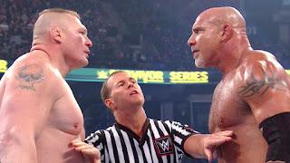 Brock Lesnar vs Goldberg 2016 full match - WWE Survivor Series 2016