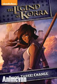 Truyền Thuyết Về Korra Quyển 3 - The Legend Of Korra (Book Three 2014 Poster